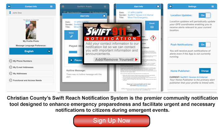 Get notified immediately for emergency alerts